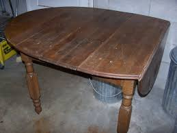 Oak Drop Leaf Table Furniture Chestnut Vs Oak Drop Leaf Table The Ebay Community