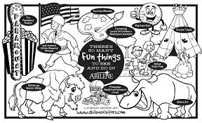 abilene children u0027s coloring book