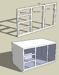 draw kitchen cabinets building face frame kitchen cabinets with triple draw set 3d