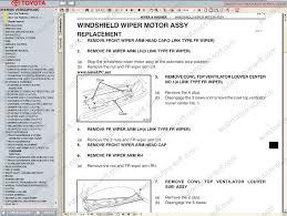 toyota avensis verso toyota picnic repair manual service manual