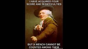 Joseph Ducreux Meme - joseph ducreux archaic raps youtube