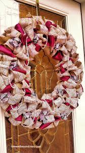halloween burlap wreath diy burlap and lace wreath