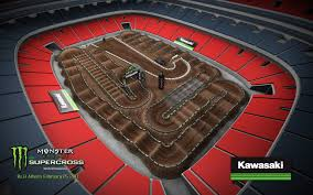 monster truck show atlanta 2017 atlanta sx track map u2013 final race in georgia dome aesenal mx