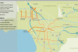 Subway Los Angeles Map by Metro U0027s Big Plans Subway To The Sea Just Tip Of The Iceberg