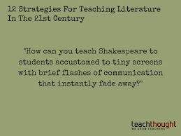 themes in literature in the 21st century 12 strategies for teaching literature in the 21st century