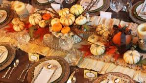 ideas inspirations for the thanksgiving tablescape do