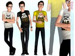 sims 3 men custom content sims 3 male clothing sets