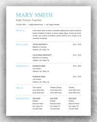 Word Resumes Templates Traditional Resume Template Word Resume Template Start