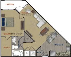 upscale community with 1 2 and 3 bedroom apartment homes a3 floor plan 3