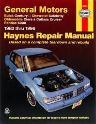 1986 Chevy Celebrity Wiring Diagram Buick Century Chevrolet Celebrity Oldsmobile Ciera Cutlass
