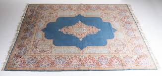 Red And Blue Persian Rug by Large Vintage Persian Carpet In Blue Red Pink And Beige For Sale
