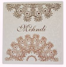 mehndi cards mehndi invitation e sqm5 0 50 special shaadi cards for