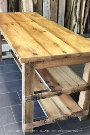 kitchen islands ontario the 12 best images about custom made wood kitchen islands on