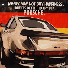 Porsche 911 Turbo - porsche 911 turbo inspired mounted plaque poster