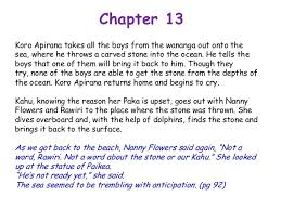 chapters 10 till end summary