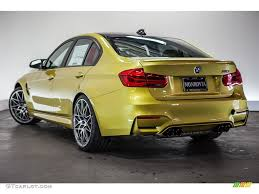 Bmw M3 Yellow 2016 - 2016 austin yellow metallic bmw m3 sedan 112772880 photo 3