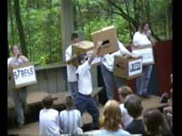 boxes church youth emotion skit