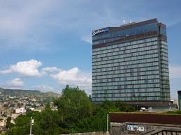 tbilisi u0027s high rise luxury hotel that became a refugee camp and