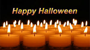 happy halloween candles youtube
