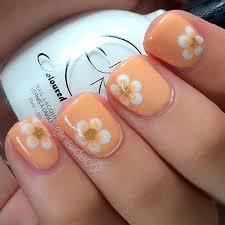 80 nail designs for short nails short nails flower nail designs