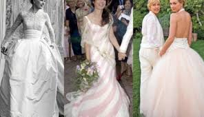 Celebrity Wedding Dresses Top 20 Celebrity Wedding Dresses Of All Time Confetti Ie