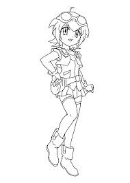 madoka beyblade anime coloring pages for kids printable free