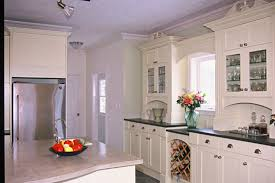 good looking rustic white kitchen ideas with wooden storage