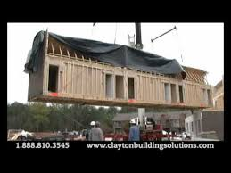 clayton homes mobile homes clayton homes strength and durability of modular housing youtube