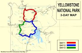 Yellowstone Map Usa by How To Tackle Yellowstone In Just 3 Days Room5