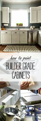 how to prep cabinets for painting to paint builder grade cabinets