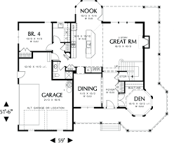 style floor plans style house plan 4 beds 3 00 baths 2518 sq ft plan 48 108