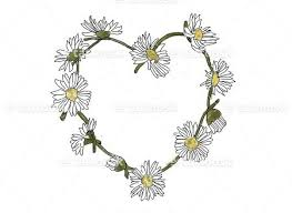 heart daisy chain tattoo tattoosk