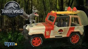 jurassic world jeep matchbox jurassic world jeep wrangler rescue net from mattel youtube