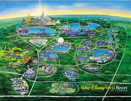 Disney World Magic Kingdom Map Walt Disney World U2013 Travelivery