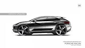 porsche macan white porsche macan with adv 1 wheels by milannoartworks on deviantart