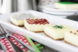 Christmas Cheesecake Decoration - how to plan a holiday office potluck live laugh rowe