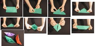 How To Make Boat From Paper - paper boat winky crafts