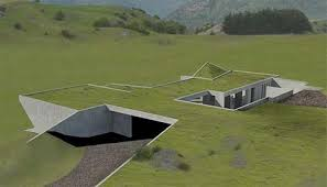 green homes designs invisible set of green homes to be underground