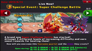 Challenge Deadly Neo Monsters Challenge Deadly Quartet Rank