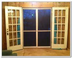 French Patio Doors With Screen by 31 Best French Door Screens Images On Pinterest Screen Doors