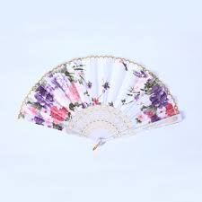 held fan wholesale beautiful held fan lace flower floral fabric