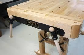 Wooden Bench Vise Screws by Workbench Design Visa Vie Veritas Twin Vice Archive