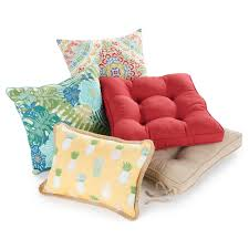 Chair Cushions Kohls Sonoma Goods For Life Indoor Outdoor Reversible Chair Cushion