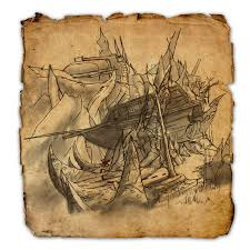 treasure map coldharbour ce treasure map elder scrolls wiki