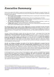 analytical paper on the economic scale and growth of the collaborativ u2026