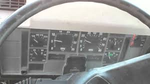 international 4700 t444e dash start youtube
