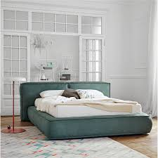 fluff is a soft down padded bed by bonaldo arredaclick