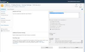 how to create a sharepoint survey in under 5 minutes collaboris