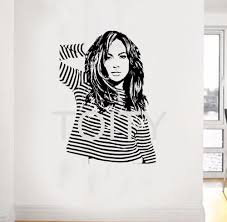 compare prices on music teens online shopping buy low price music jennifer lopez wall sticker american idol jlo singer actress dancer vinyl decal dorm music bar teen