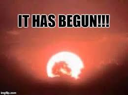 It Has Begun Meme - mortal kombat sunset imgflip